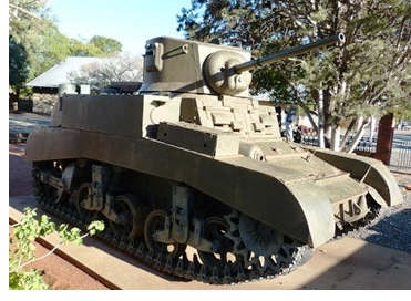 Fully Restored Stuart Tank - Kimberley South Africa
